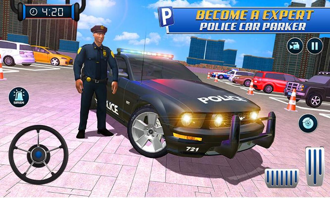 Police Car Parking Free 3d Driving Games For Android Apk Download