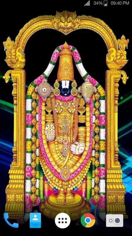 Hd Lord Tirupati Balaji Live Wallpaper Pour Android Téléchargez Lapk