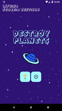 Destroy the Planets poster