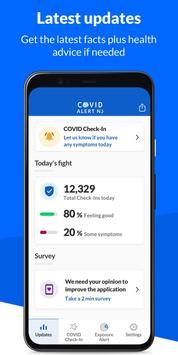 COVID Alert NJ screenshot 4