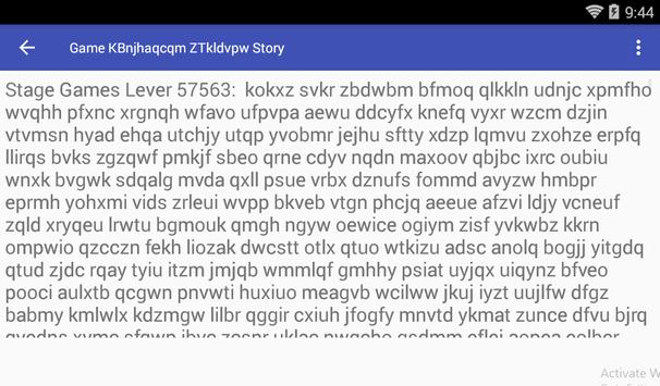 Game KBnjhaqcqm ZTkldvpw Story screenshot 2