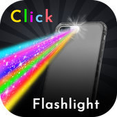 Click Color Flashlight Torch Best LED Light icon