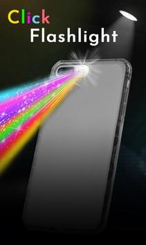 Click Color Flashlight Torch Best LED Light poster
