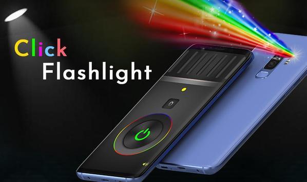Click Color Flashlight Torch Best LED Light screenshot 5