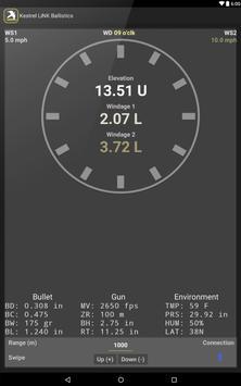 Kestrel LiNK® Ballistics स्क्रीनशॉट 7