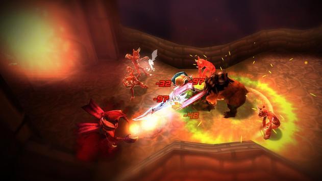 BLADE WARRIOR: 3D ACTION RPG تصوير الشاشة 1