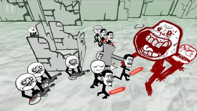 Stickman Meme Battle Simulator screenshot 3