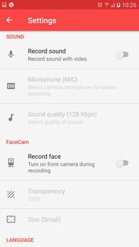 Screen Recorder - Record your screen تصوير الشاشة 6