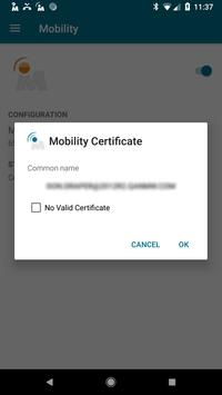NetMotion Mobility® स्क्रीनशॉट 1