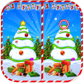 Find The Difference : Christmas Puzzle Game icon