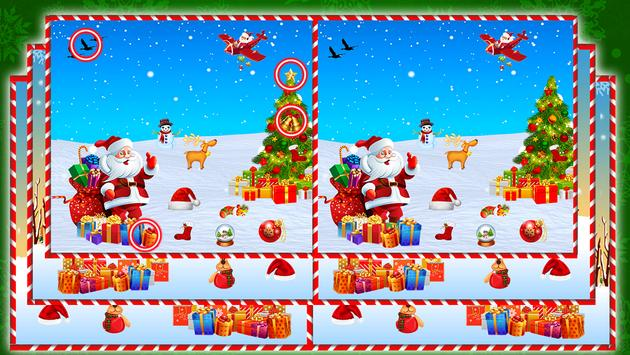 Find The Difference : Christmas Puzzle Game screenshot 5