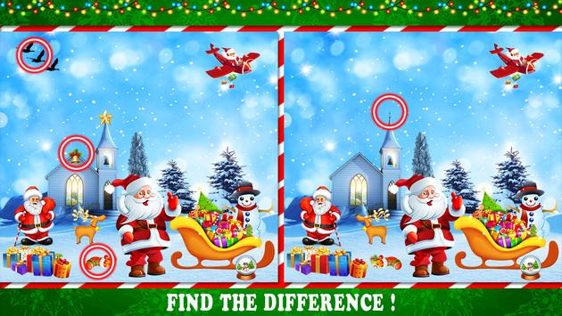 Find The Difference : Christmas Puzzle Game screenshot 6