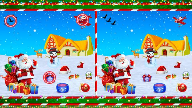 Find The Difference : Christmas Puzzle Game screenshot 13