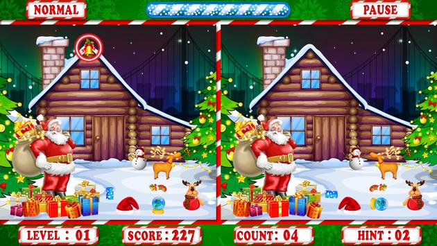 Find The Difference : Christmas Puzzle Game screenshot 10