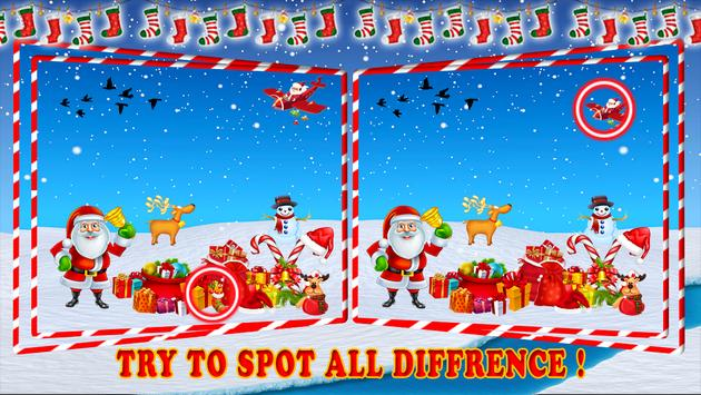 Find The Difference : Christmas Puzzle Game screenshot 2
