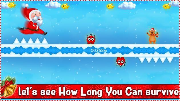 Santa Gravity Flipper - Endless Running Game screenshot 9