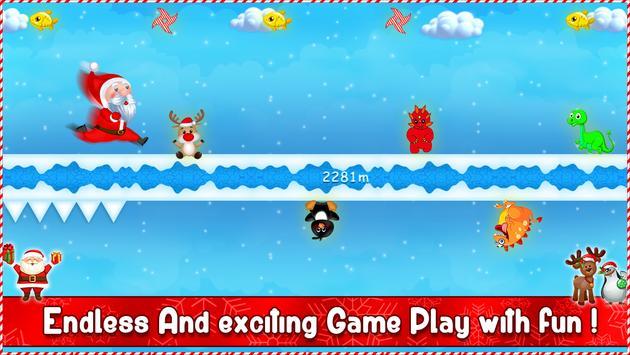 Santa Gravity Flipper - Endless Running Game screenshot 10