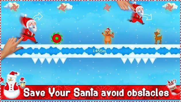 Santa Gravity Flipper - Endless Running Game screenshot 14