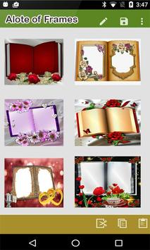Dual Open Book Photo Frames – Photo on Book Page screenshot 1