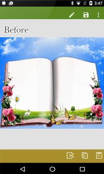Dual Open Book Photo Frames – Photo on Book Page screenshot 3