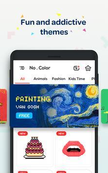 No.Color - Game Mewarnai Nomor - No. Warna screenshot 14