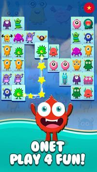 Onet Connect Monster - Play for fun ảnh chụp màn hình 1