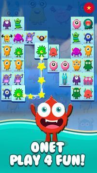 Onet Connect Monster - Play for fun ảnh chụp màn hình 9