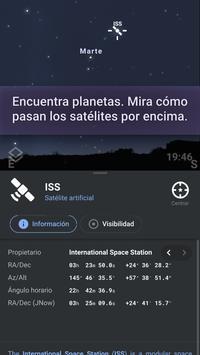 Stellarium captura de pantalla 3