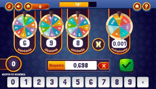 Roletas da Multiplicação screenshot 2