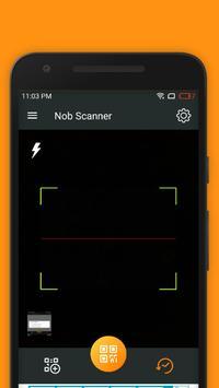 Nob Scanner  - Barcode Scanner And QR Code Reader poster