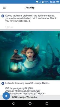 ABC Lounge Webradio screenshot 1