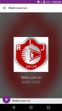 Radio Louvri Je poster