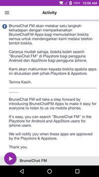 BruneiChat FM screenshot 1