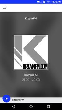 Kream FM 포스터