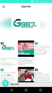G98.7FM poster