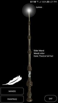 Mantras for Harry Potter poster