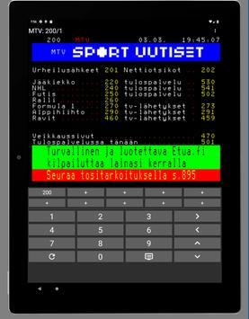 Teksti-TV screenshot 4