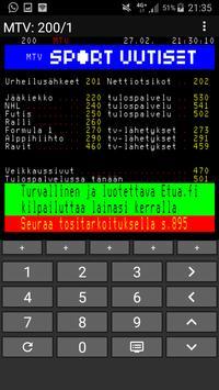 Teksti-TV screenshot 1