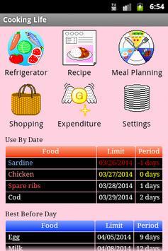 Cooking Life Free/Refrigerator screenshot 7