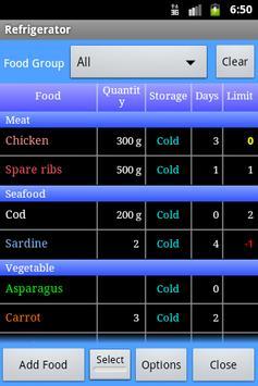 Cooking Life Free/Refrigerator screenshot 1