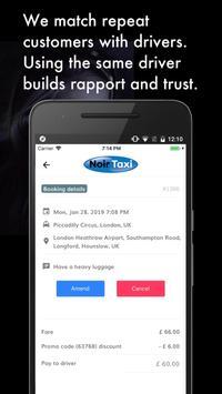 Noir Taxi: London Premier Taxi screenshot 2