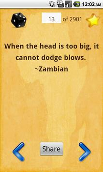 African Proverbs : 3000 Greatest Proverbs + Audio screenshot 1