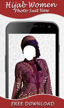 Hijab Women Photo Suit screenshot 5