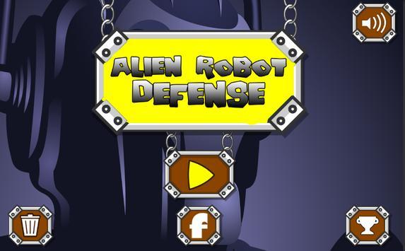 Alien Robot Defense poster
