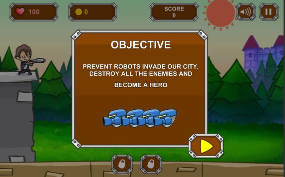 Alien Robot Defense screenshot 1
