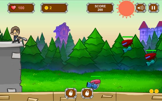 Alien Robot Defense screenshot 2