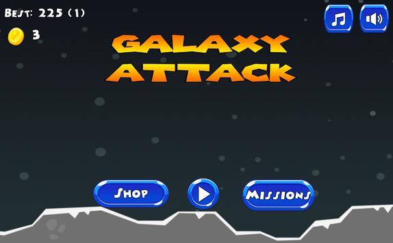 Galaxy Wars Attack poster