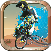 Extreme bicycle Boy icon