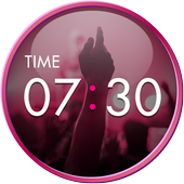 Clock Widget-MUSIC ART icon