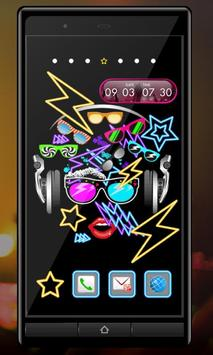 Clock Widget-MUSIC ART screenshot 2